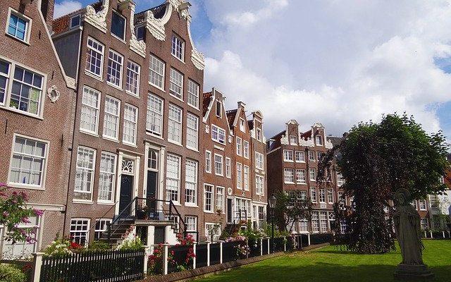 amsterdam home brick square europe