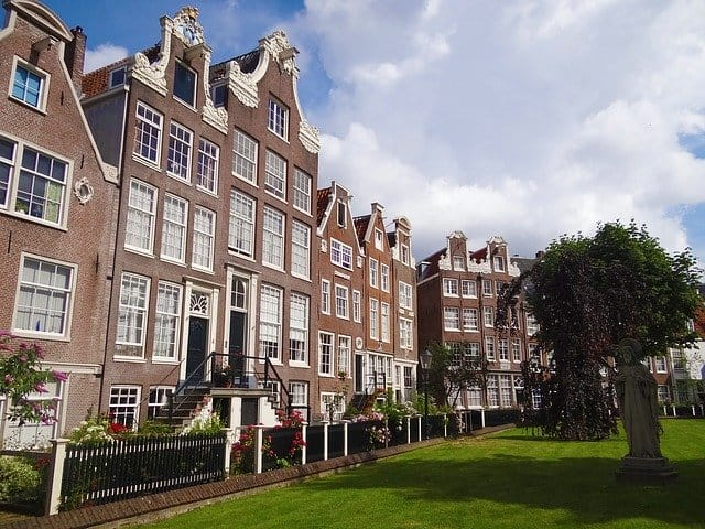 amsterdam home brick square europe