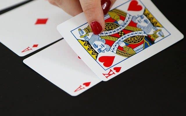 card game king ace poker casino