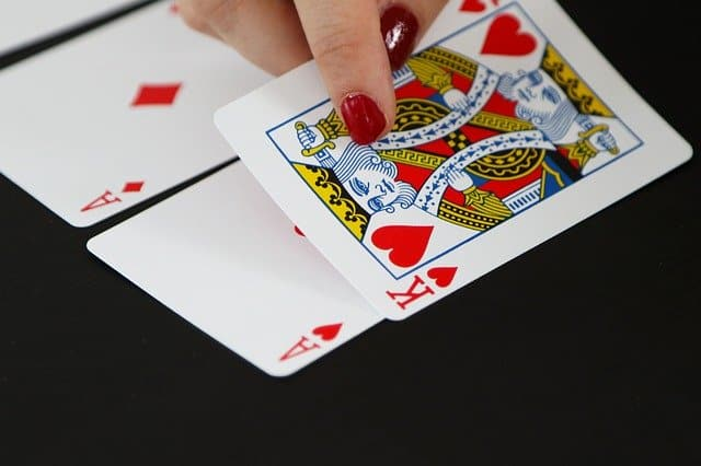 card game king ace poker casino